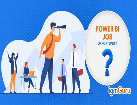 Job opportunities in Power BI