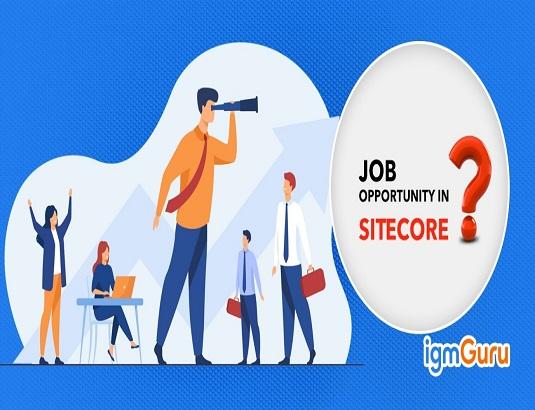 Job opportunities in Sitecore