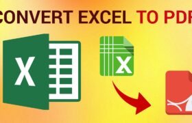Excel to PDF Conversion