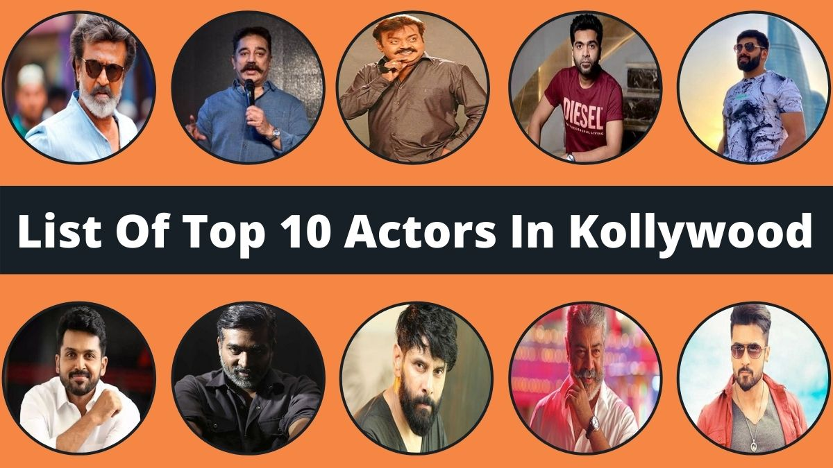 List Of Top 10 Actors In Kollywood