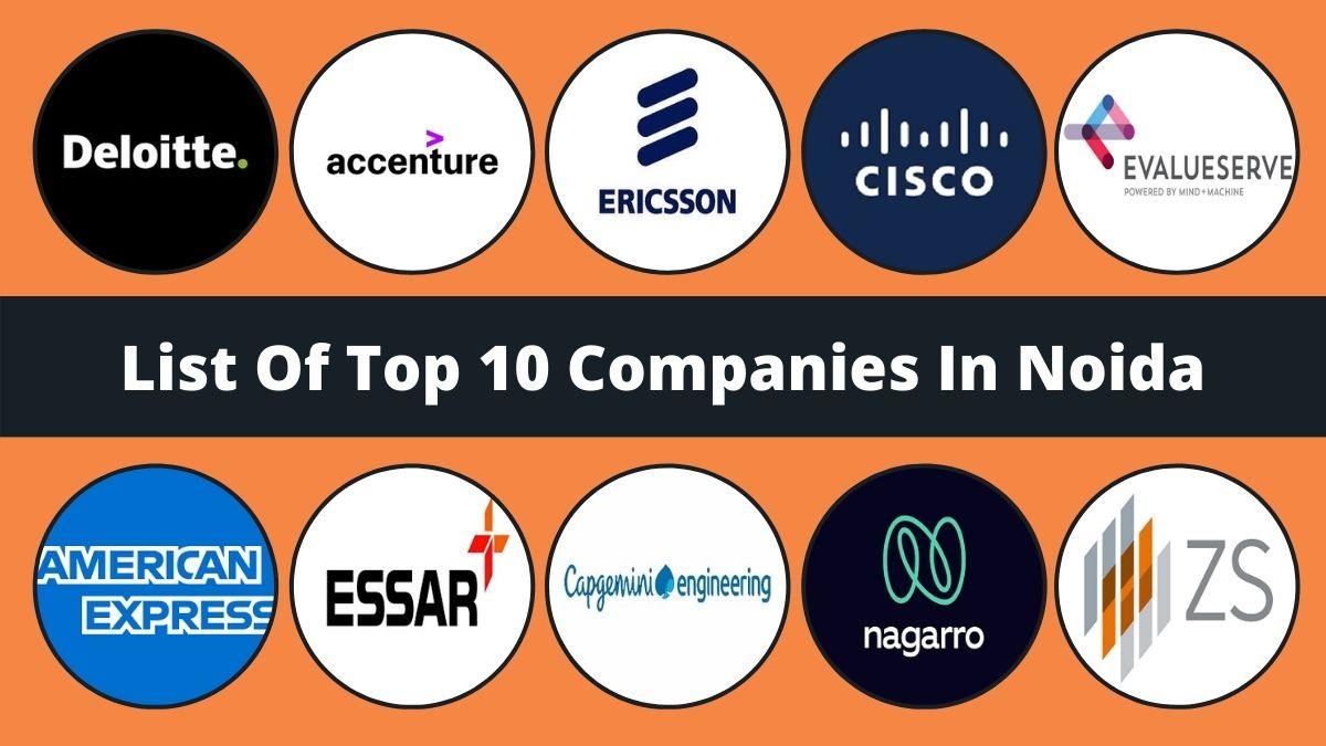 Top 10 Companies In Noida