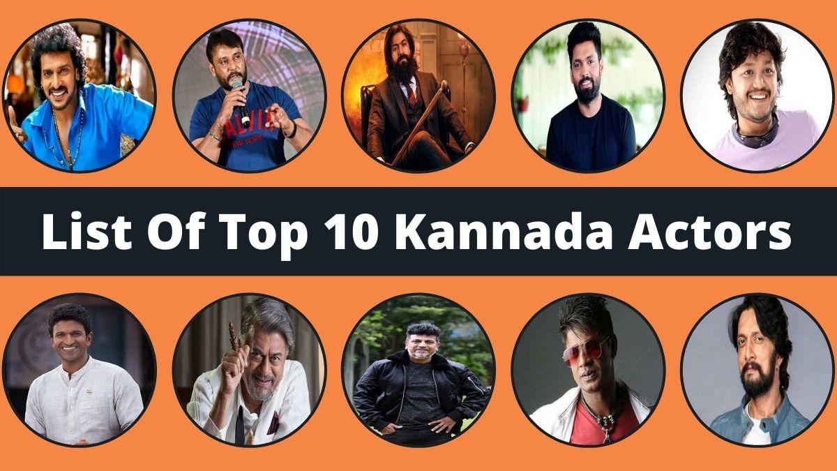Top 10 Kannada Actors
