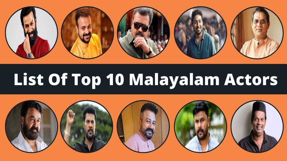 List Of Top 10 Malayalam Actors