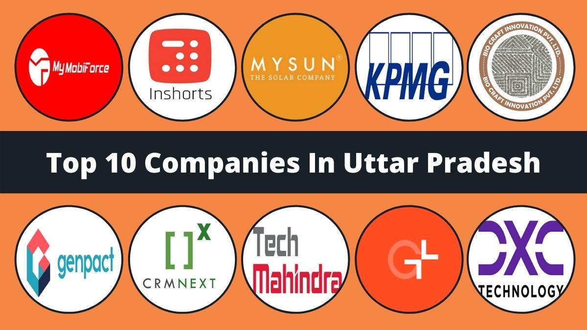 Top 10 Companies In Uttar Pradesh