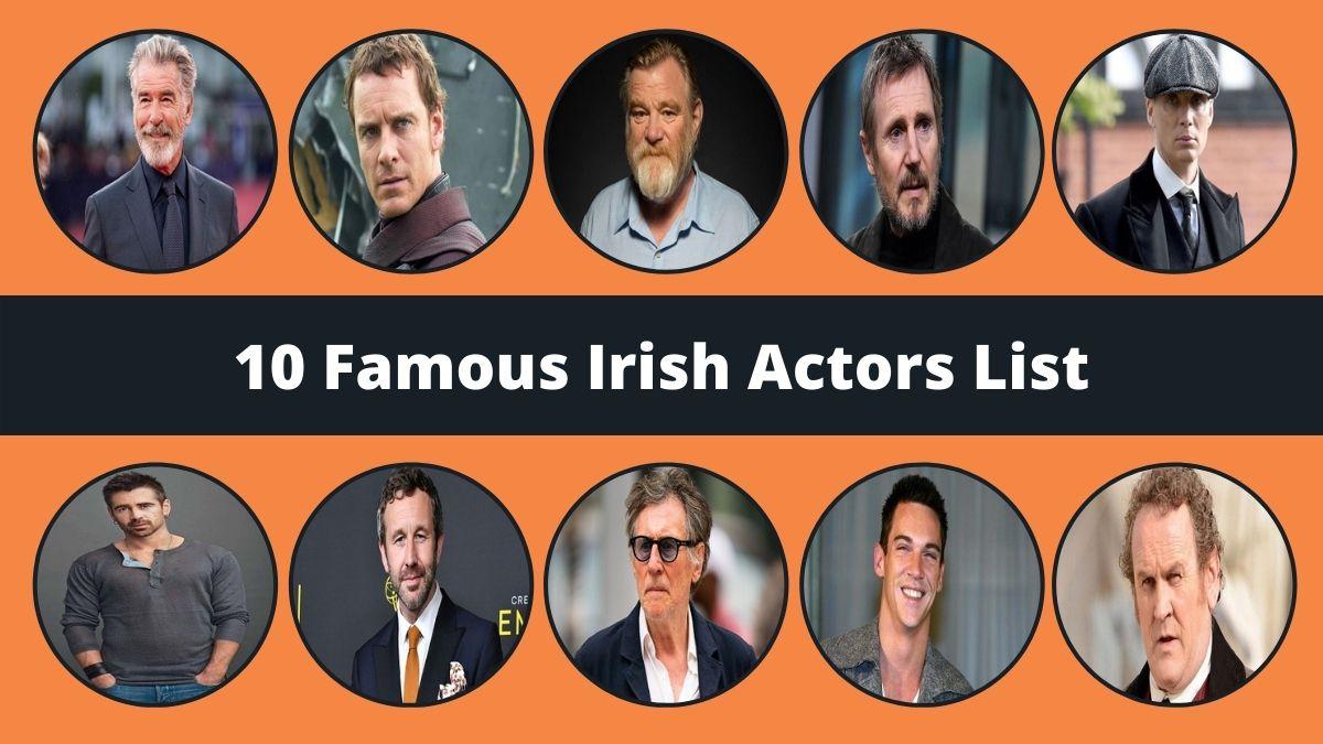 Famous Irish Actors