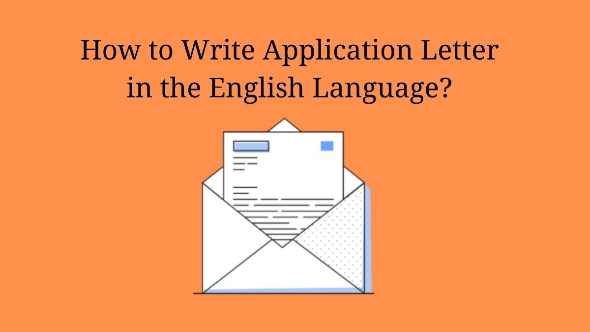 Application in English Language