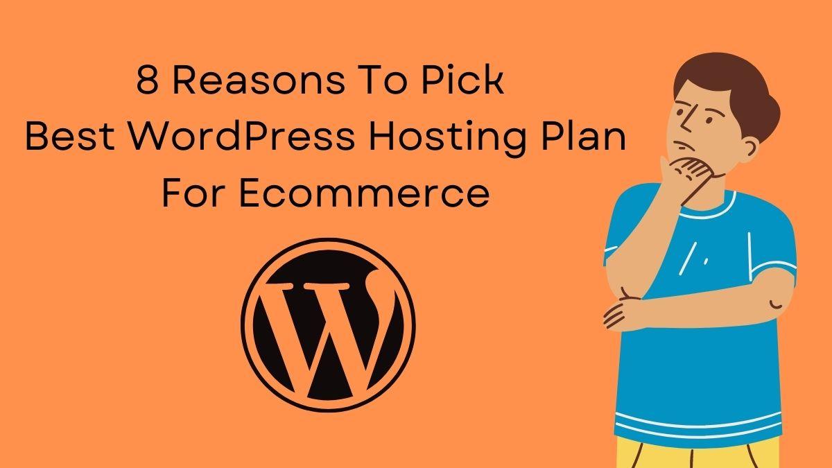 Best WordPress Hosting Plan For Ecommerce